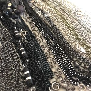Lot of Chain Necklaces for Repurposing
